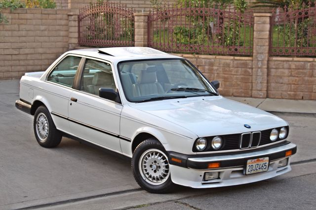 1987 BMW 3 Series 325ES COUPE MANUAL LEATHER SUNROOF ALLOY WHLS Woodland Hills, CA 10