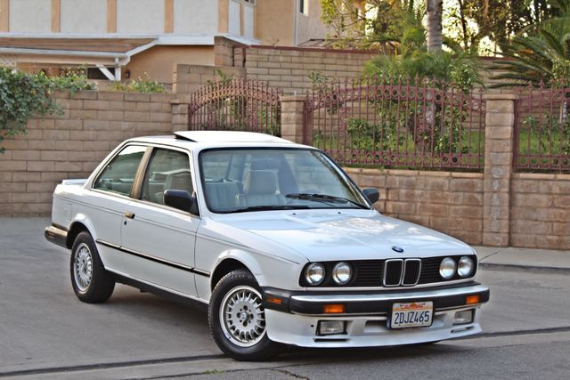 1987 BMW 3 Series 325ES COUPE MANUAL LEATHER SUNROOF ALLOY WHLS Woodland Hills, CA 12