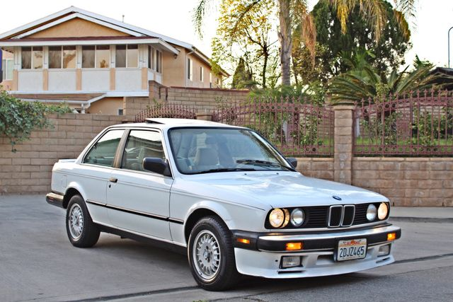 1987 BMW 3 Series 325ES COUPE MANUAL LEATHER SUNROOF ALLOY WHLS Woodland Hills, CA 31