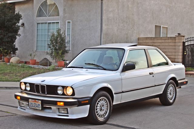 1987 BMW 3 Series 325ES COUPE MANUAL LEATHER SUNROOF ALLOY WHLS Woodland Hills, CA 32