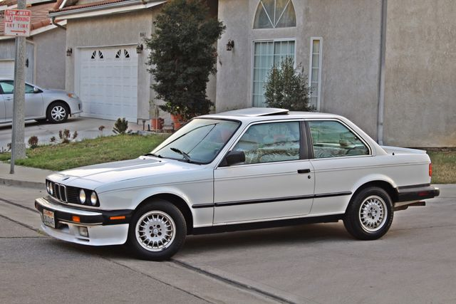 1987 BMW 3 Series 325ES COUPE MANUAL LEATHER SUNROOF ALLOY WHLS Woodland Hills, CA 1
