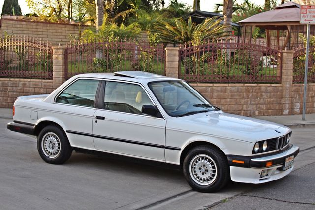 1987 BMW 3 Series 325ES COUPE MANUAL LEATHER SUNROOF ALLOY WHLS Woodland Hills, CA 33