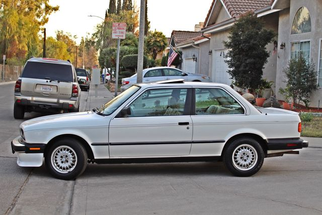 1987 BMW 3 Series 325ES COUPE MANUAL LEATHER SUNROOF ALLOY WHLS Woodland Hills, CA 2