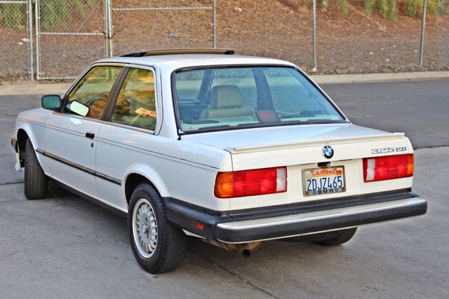 1987 BMW 3 Series 325ES COUPE MANUAL LEATHER SUNROOF ALLOY WHLS Woodland Hills, CA 4