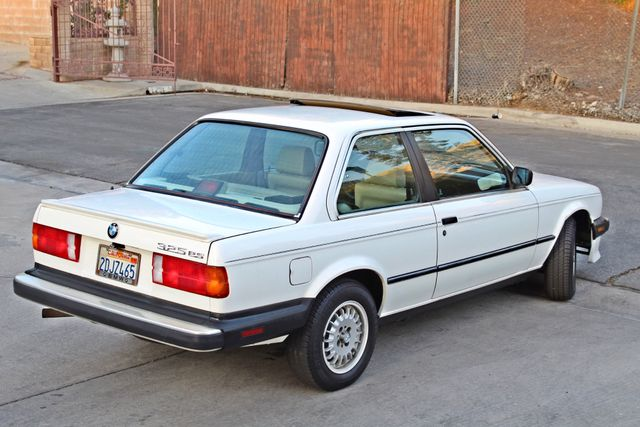 1987 BMW 3 Series 325ES COUPE MANUAL LEATHER SUNROOF ALLOY WHLS Woodland Hills, CA 5