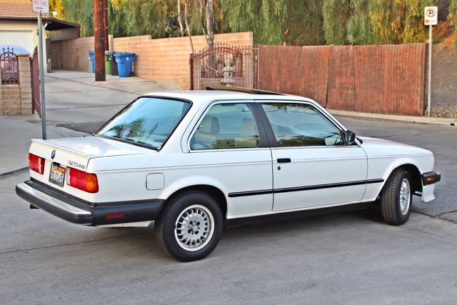 1987 BMW 3 Series 325ES COUPE MANUAL LEATHER SUNROOF ALLOY WHLS Woodland Hills, CA 7