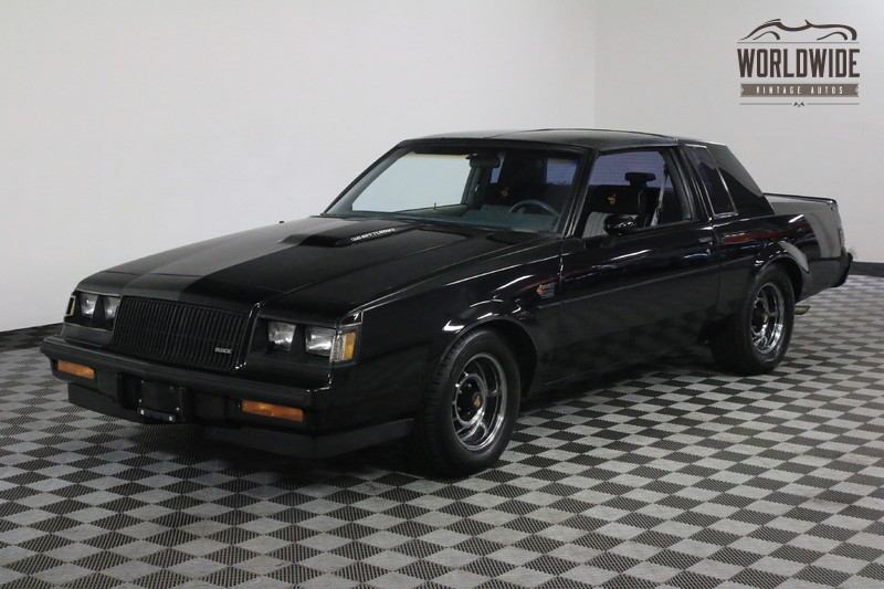 1987 Buick GRAND NATIONAL ONE OWNER LOW MILES ORIGINAL