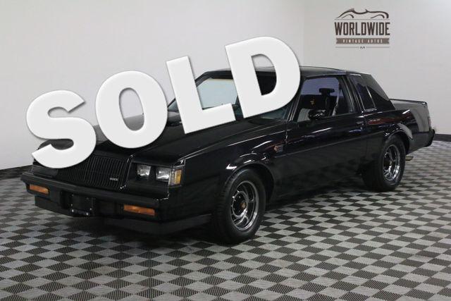 1987 Buick GRAND NATIONAL ONE OWNER LOW MILES ORIGINAL | Denver, Colorado | Worldwide Vintage Autos