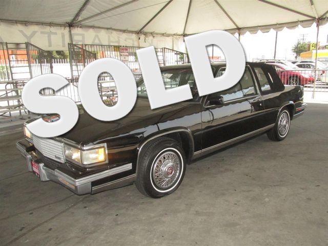 1987 Cadillac DevilleFleetwood Deville Please call or e-mail to check availability All of our