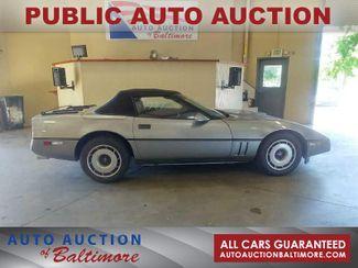 1987 Chevrolet Corvette    JOPPA, MD   Auto Auction of Baltimore  in Joppa MD