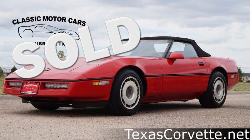 1987 Chevrolet Corvette  | Lubbock, Texas | Classic Motor Cars