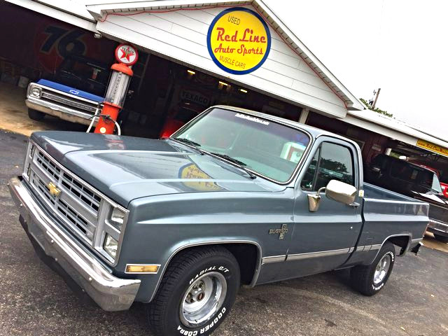 1987 Chevrolet R/V10 Silverado RedLineMuscleCars.com, Oklahoma 0