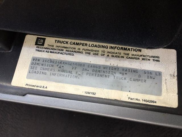 1987 Chevrolet R/V10 Silverado RedLineMuscleCars.com, Oklahoma 14