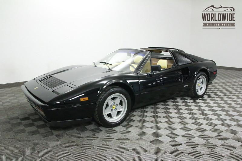 1987 Ferrari 328 GTS STUNNING. BELT SERVICE. 35K MILES. NERO BLACK!