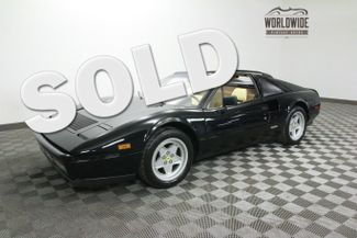 1987 Ferrari 328 GTS STUNNING. BELT SERVICE. 35K MILES. NERO BLACK! | Denver, Colorado | Worldwide Vintage Autos in Denver Colorado