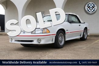 1987 Ford Mustang GT CONV, ONLY 27,999 ACTUAL MILES, CLEAN CARFAX in Garland