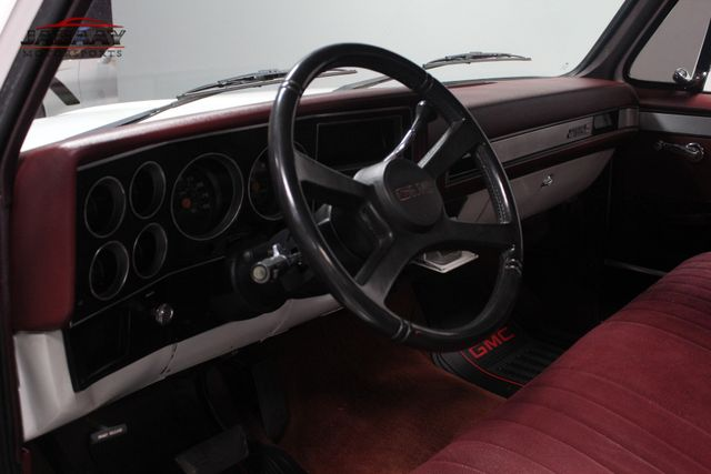 1987 GMC 1/2 Ton Pickups Merrillville, Indiana 9