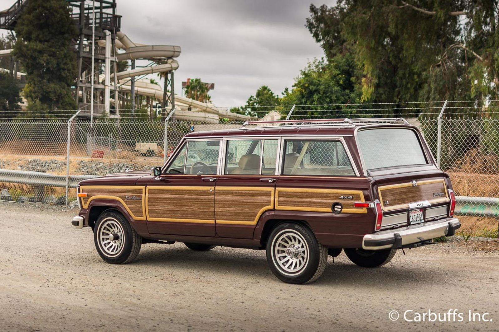 1987 jeep grand wagoneer concord ca carbuffs concord ca 94520. Black Bedroom Furniture Sets. Home Design Ideas