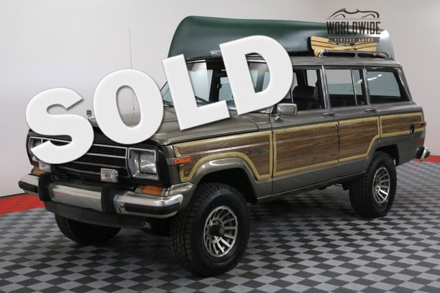 1987 Jeep GRAND WAGONEER NEW V8 AUTO AC | Denver, Colorado | Worldwide Vintage Autos