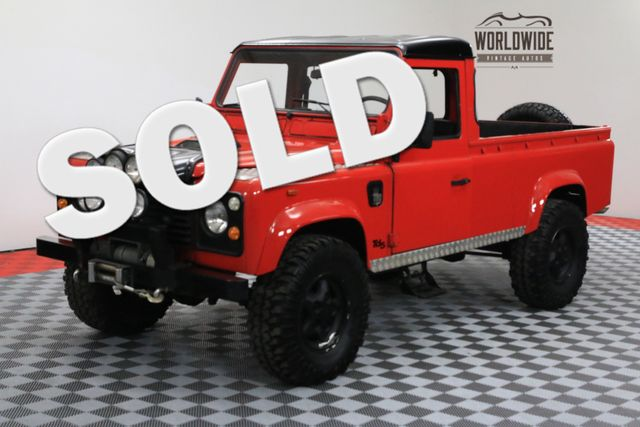 1987 Land Rover DEFENDER 110 RESTORED LHD DIESEL | Denver, Colorado | Worldwide Vintage Autos