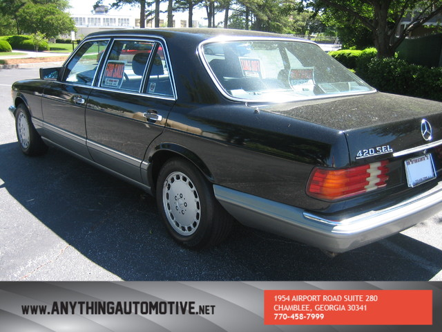 1987 Mercedes-Benz 420 SEL Long wheel-base Chamblee, Georgia 11
