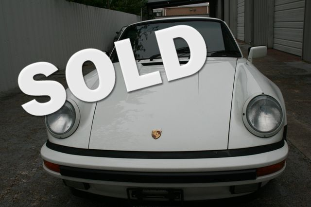 1987 Porsche 911 Carrera Very Rare Wide Body Houston, Texas 0