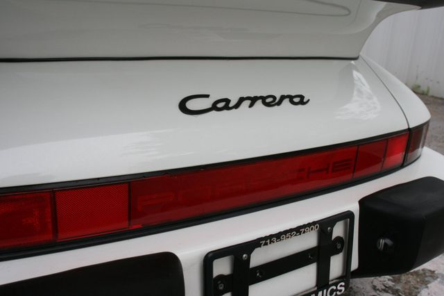 1987 Porsche 911 Carrera Very Rare Wide Body Houston, Texas 14