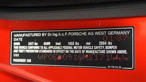 1987 Porsche 911 Carrera Cabriolet | Lubbock, Texas | Classic Motor Cars in Lubbock, Texas