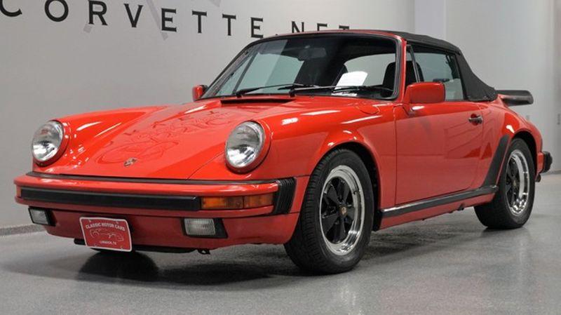 1987 Porsche 911 Carrera Cabriolet | Lubbock, Texas | Classic Motor Cars