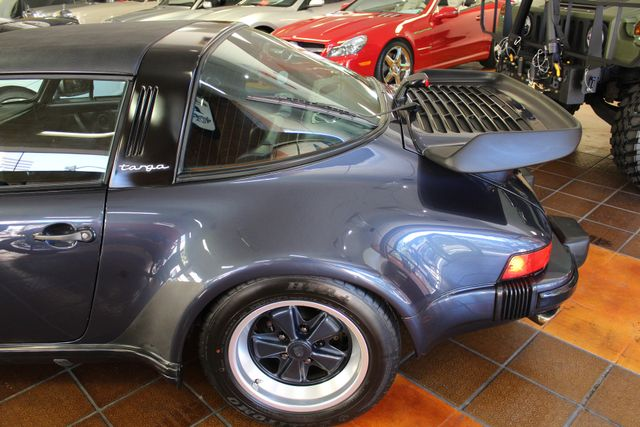 1987 Porsche 911 Carrera Targa Wide Body Turbo Look M491 San Diego, California 13