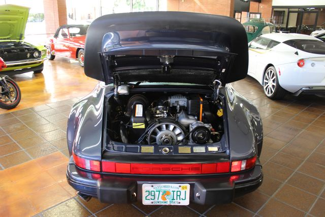 1987 Porsche 911 Carrera Targa Wide Body Turbo Look M491 San Diego, California 33