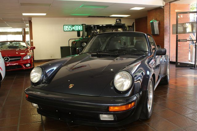 1987 Porsche 911 Carrera Targa Wide Body Turbo Look M491 San Diego, California 58