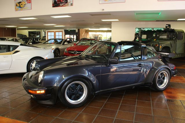 1987 Porsche 911 Carrera Targa Wide Body Turbo Look M491 San Diego, California 60