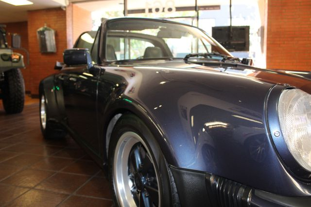 1987 Porsche 911 Carrera Targa Wide Body Turbo Look M491 San Diego, California 67