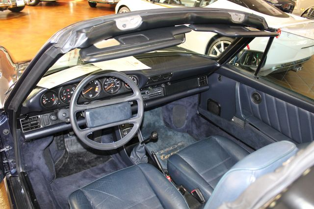 1987 Porsche 911 Carrera Targa Wide Body Turbo Look M491 San Diego, California 39