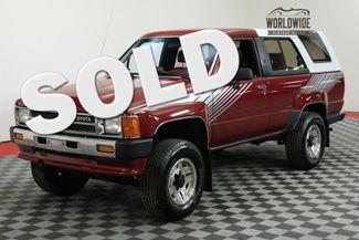 1987 Toyota 4RUNNER EFI SR5 COLLECTOR GRADE LOW MILES MANUAL | Denver, CO | Worldwide Vintage Autos in Denver CO