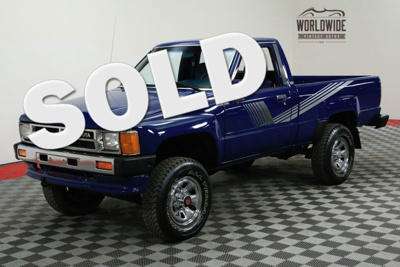 1987 Toyota PICKUP ALL ORIGINAL COLLECTOR GRADE 4x4. AC!!!  | Denver, CO | Worldwide Vintage Autos