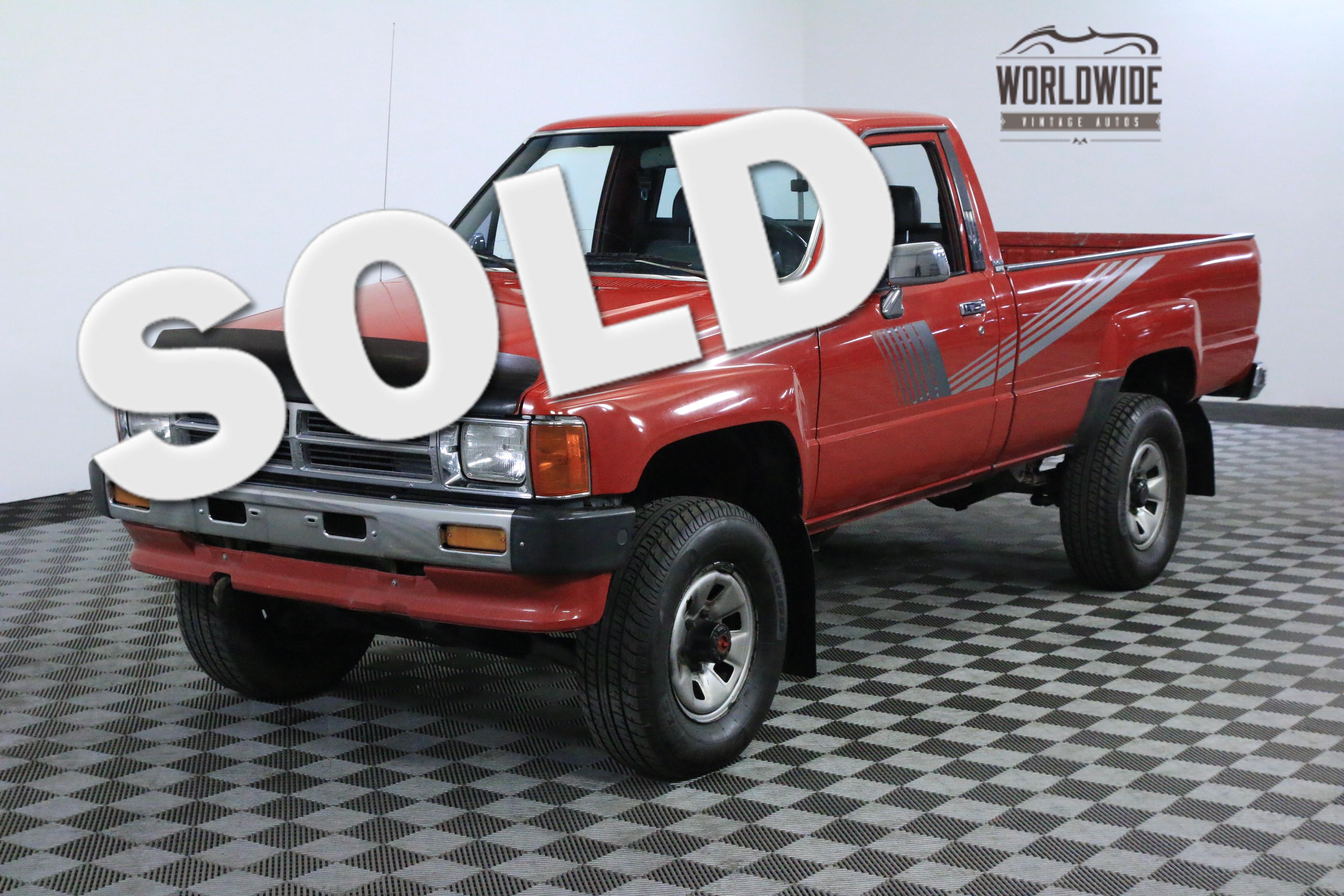 1987 Toyota DELUXE COLLECTOR GRADE AZ TRUCK