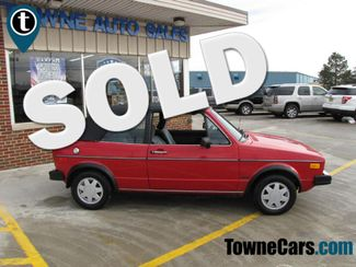 1987 Volkswagen CABRIOLET  | Medina, OH | Towne Cars in Ohio OH