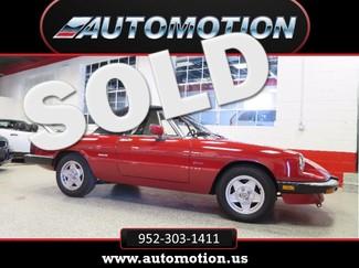 1988 Alfa Romeo Spider Convertible Collector Quality 60K Miles, INDOOR SHOWROOM Saint Louis Park, MN