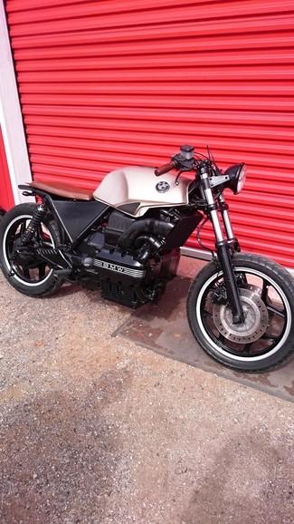 1988 BMW K75 BRATSTYLE CUSTOM MOTORCYCLE Cocoa, Florida 13