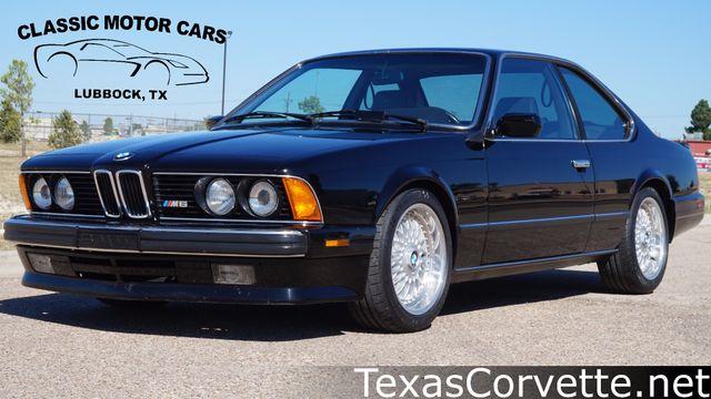 1988 BMW M6    Lubbock, Texas   Classic Motor Cars
