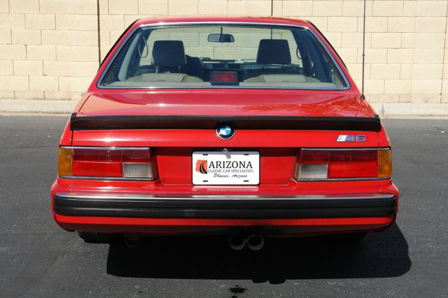 1988 BMW M6 Phoenix, AZ 14