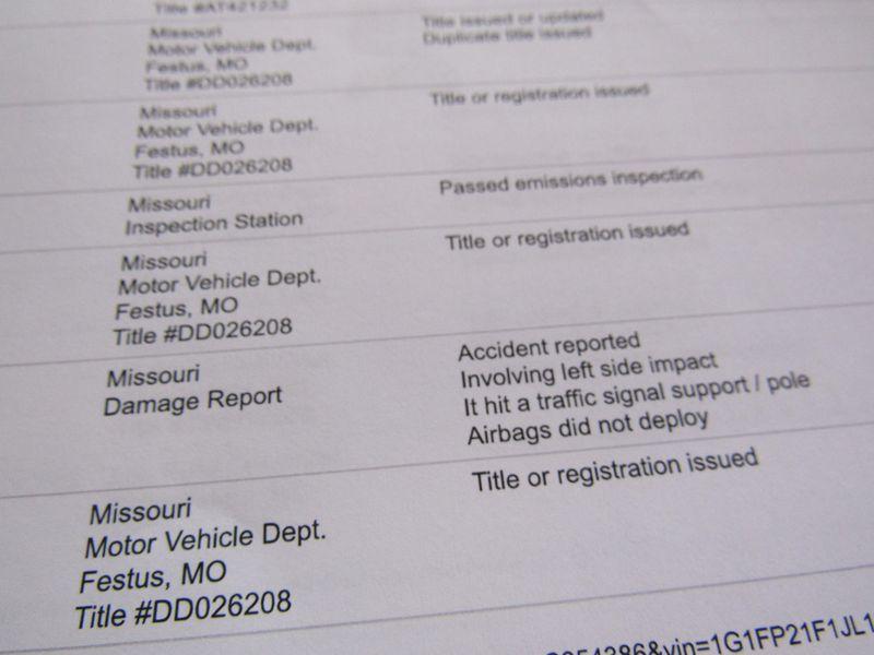 Missouri motor vehicle inspection for Schroeder motors st charles