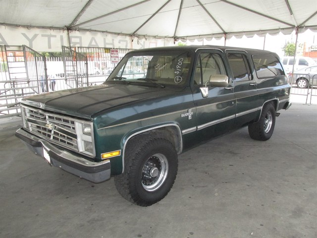 1988 Chevrolet Suburban This particular Vehicles true mileage is unknown TMU Please call or e-