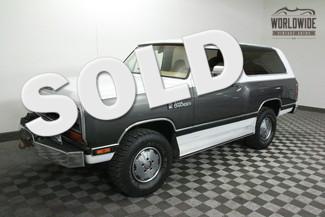 1988 Dodge RAM CHARGER in Denver Colorado