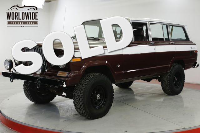 Jeep Grand Wagoneer For Sale >> Jeep Grand Wagoneer