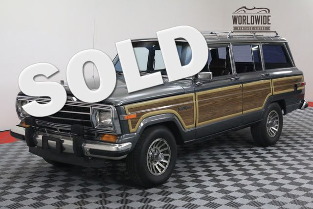 1988 Jeep GRAND WAGONEER V8 AUTO AC 4X4 98K MILES | Denver, Colorado | Worldwide Vintage Autos