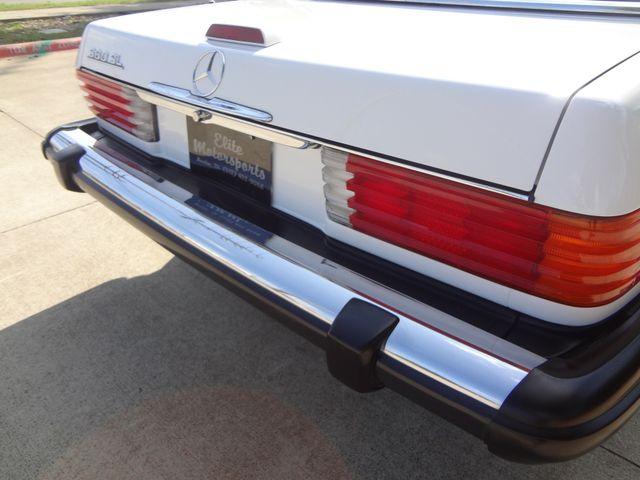 1988 Mercedes-Benz 560 Series 560SL Austin , Texas 37