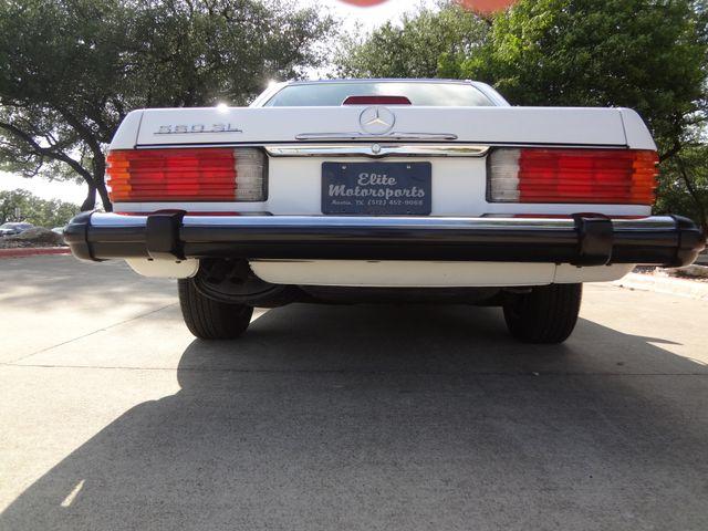 1988 Mercedes-Benz 560 Series 560SL Austin , Texas 8